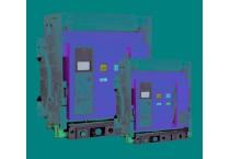 Воздушный автоматический выключатель выкатной Е5К-1F 3200ER 3P 100 kA ELVERT