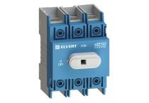 Выключатель-разъединитель eDF60 3P 125А ELVERT