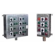 Посты взрывозащищенные кнопочные cерии ПВК-ХХХХ из пластика или алюминия, 2EхedIICT6, 2EхnACIICT6, 2EхnAIICT6