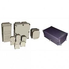 Оболочки электротехнических аппаратов серии ОЭАП из пластика серии ОЭАМ из алюминия, EхeIIU и EхeIU/EхeIIU