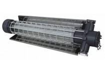 Взрывозащищенный светильник для линейных люминесцентных и светодиодных ламп серии ВЭЛАН55, РВ EхdI/1EхdIICT6