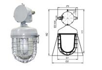 Светильники подвесные серии НСП43М