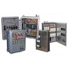Шкафы управления и сигнализации, щитовое оборудование