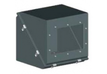 Коробки защитные взрывозащищенные диагональные серии КЗВД (кожухи), 2EхeIIT6/EхeIIU