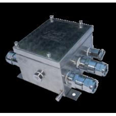 Коробки зажимов серии КЗПН-ВЭЛ из нержавеющей стали и КЗПС-ВЭЛ из стали с антикоррозионным покрытием, 2EхeIIT5