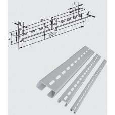 Электромонтажные перфорированные профили и полосы